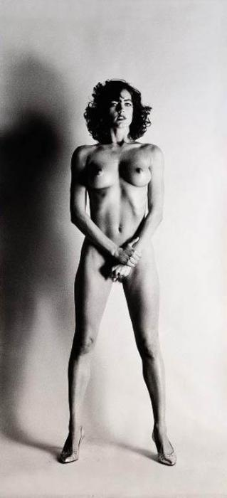 Helmut Newton-Big Nude III, Paris (1980)-1980
