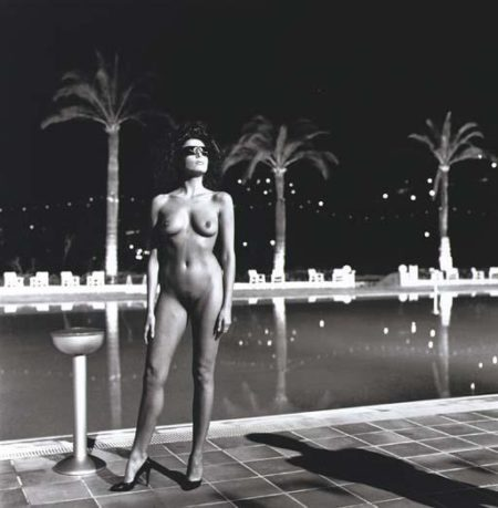 Helmut Newton-Pool, Old Beach Hotel, Monte Carlo-1981