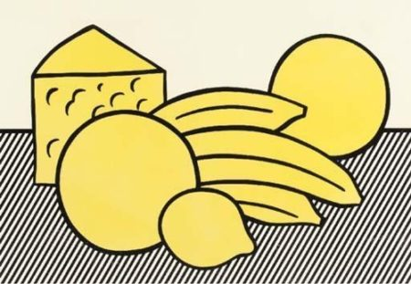 Roy Lichtenstein-Yellow Still Life-1974