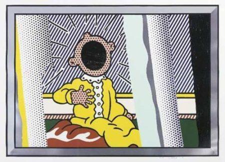 Roy Lichtenstein-Reflections on the Scream-1990