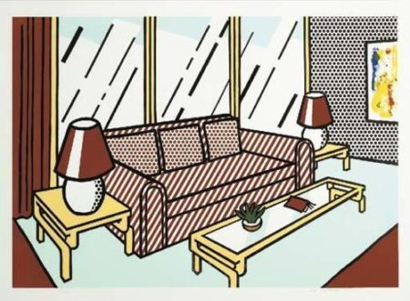 Roy Lichtenstein-Red Lamps-1991