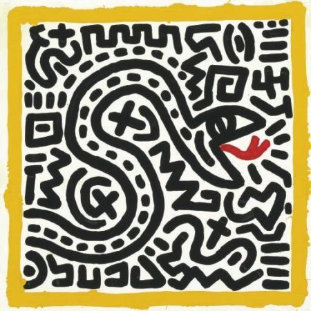 Keith Haring - Untitled-1982