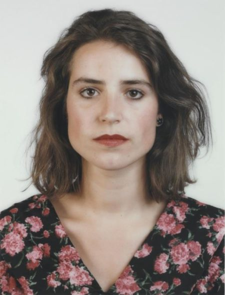 Thomas Ruff-Portrait (C.Pilar) (POR 052)-1988