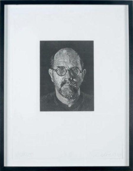 Chuck Close-Self-Portrait III-1994