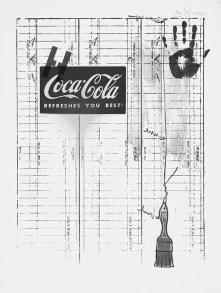 Untitled (Coca-Cola and Grid) (ULAE 99; G. 294)-1971