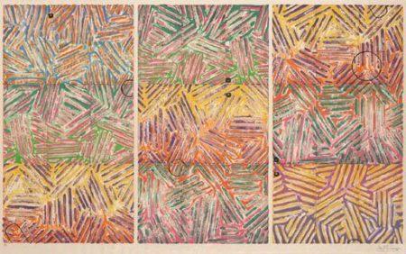 Jasper Johns-Usuyuki (ULAE 227)-1982