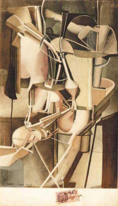 Marcel Duchamp-Bride (S. 456) (Mariee)-1937