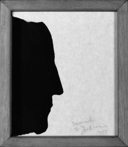 Marcel Duchamp-Self-Portrait in Profile (S. 557)-1958