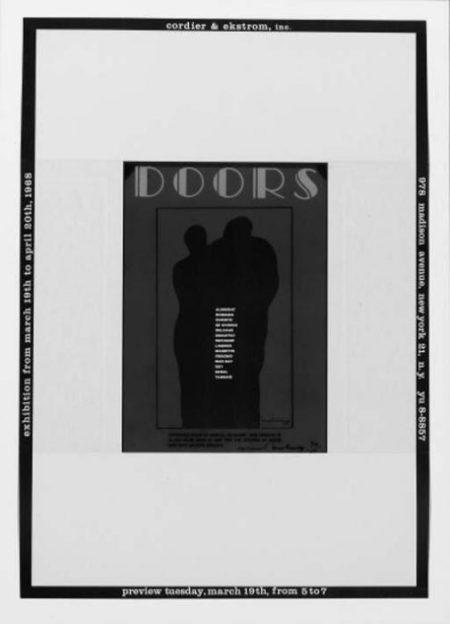 Marcel Duchamp-Announcement for the Exhibition 'Doors' (S. 656)-1968