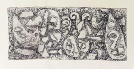 Paul Klee-Metamorphose Der Fragmente (Metamorphosis In Fragments)-1937
