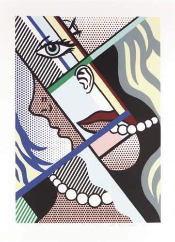 Roy Lichtenstein-Modern Art I-1996