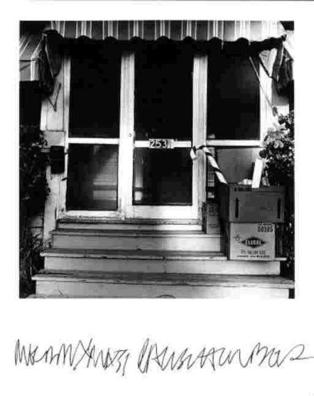 Robert Rauschenberg-Robert Rauschenberg - Untitled (Entranceway, Captiva Island)-1975