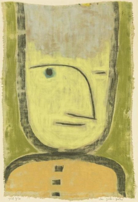 Paul Klee-Der Gelb-Grune-1938