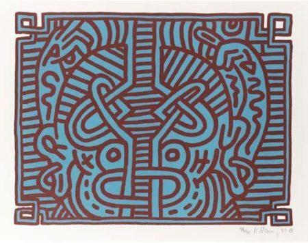 Keith Haring-Keith Haring - Chocolate Buddah 1-5-1989