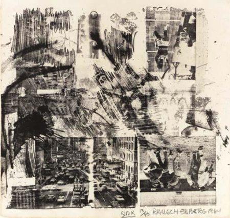 Robert Rauschenberg-Robert Rauschenberg - Sink-1964