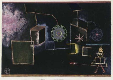 Paul Klee-Mordbrenner (Composition In Black)-1930