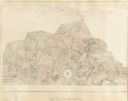 Paul Klee-Cultivierter Berg (Mountain)-1931