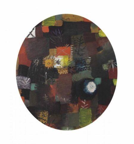 Paul Klee-Kleines Weihnachtssilleben-1914