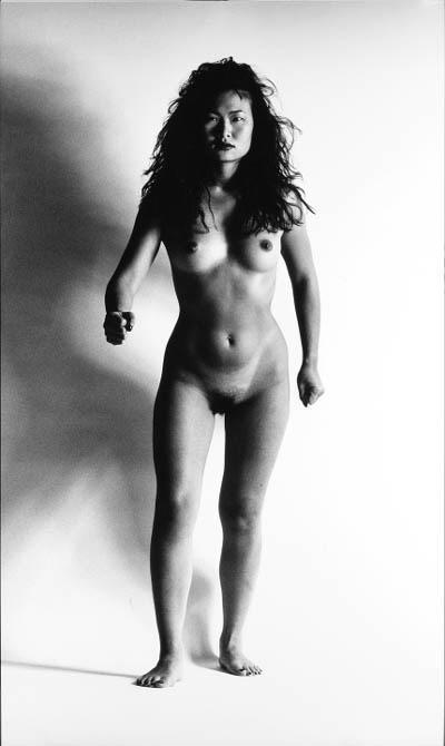 Helmut Newton-Big Nude XIII (Genghis Khan's daughter)-1993