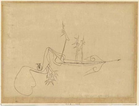 Paul Klee-Verhexte Landschaft-1923