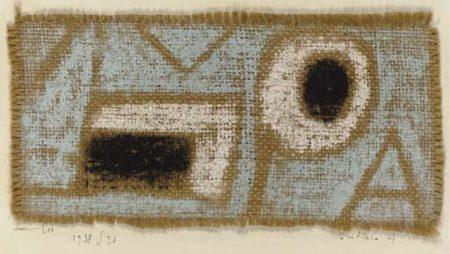 Paul Klee-Initiale A-1938