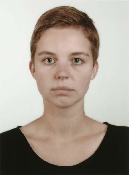 Thomas Ruff-Portrat (I.Graw)-1988
