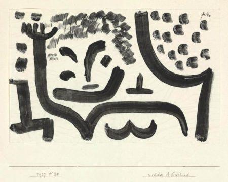 Paul Klee-Wilder Abschied-1937