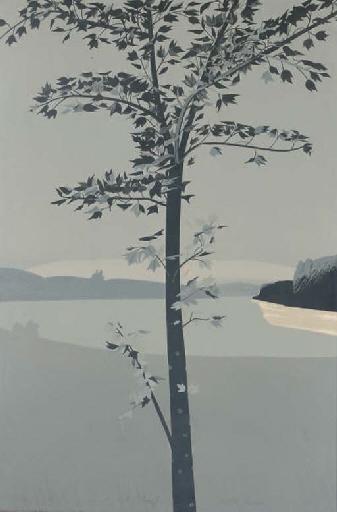 Alex Katz-Swamp Maple II (M 36)-1970