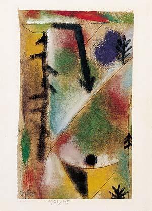 Paul Klee-Pferd Und Mann-1923