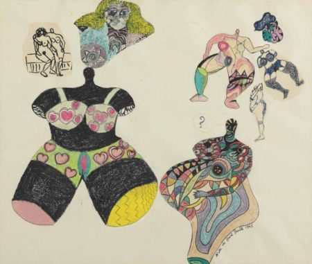 Niki de Saint Phalle-Untitled-1965