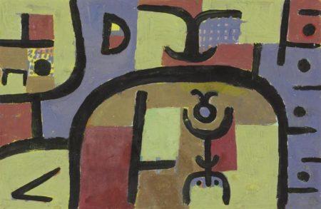 Paul Klee-Ausserdem ein Manchen-1938