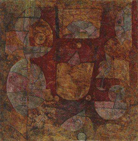 Paul Klee-Ohne Titel (Ein Magier Experimentierend)-1939