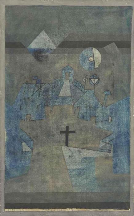 Paul Klee-Dunenfriedhof-1924