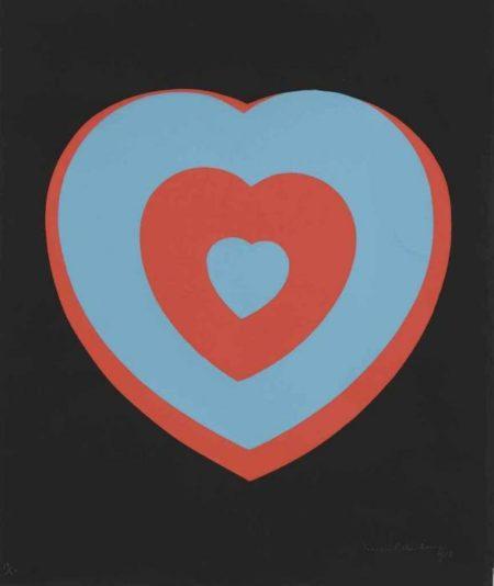 Marcel Duchamp-Coeurs Volants (Fluttering Hearts)-1936