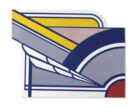 Roy Lichtenstein-Modern Painting in Porcelain-1967