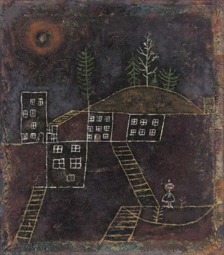 Paul Klee-Bescheidene Heimat-1928