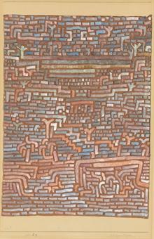 Paul Klee-Heiliger Bezirk-1932
