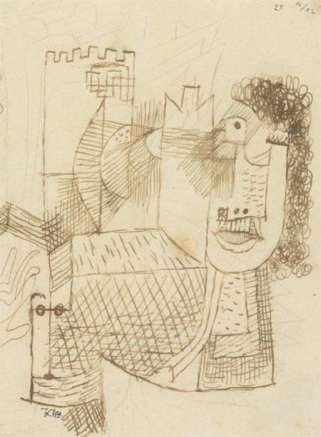 Paul Klee-Der Pathetiker-1922