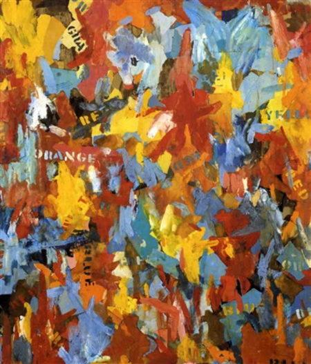 Jasper Johns-Small False Start-1960