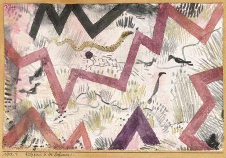 Paul Klee-Erlebnis In Den Lechauen-1918
