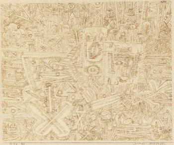 Paul Klee-Bazar-Stilleben (Bazaar Still Life)-1924