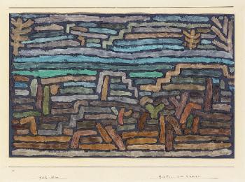 Paul Klee-Garten Am Wasser-1932