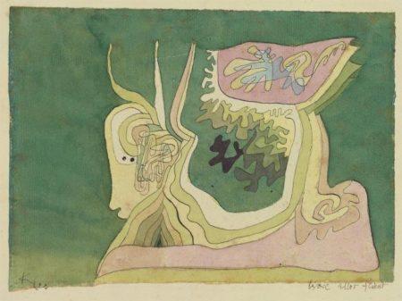 Paul Klee-Weil Alles Fliesst-1929