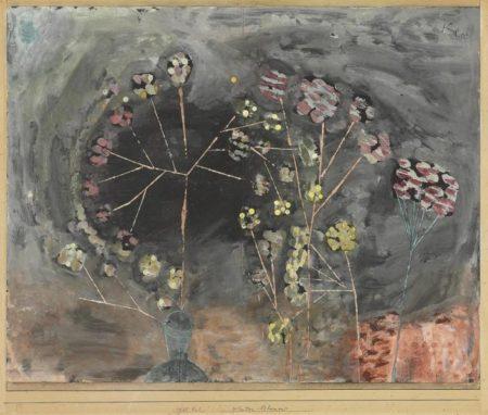 Paul Klee-Winter-Blumen-1930