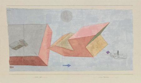 Paul Klee-Kurze Seereise (Short Sea Voyage)-1930