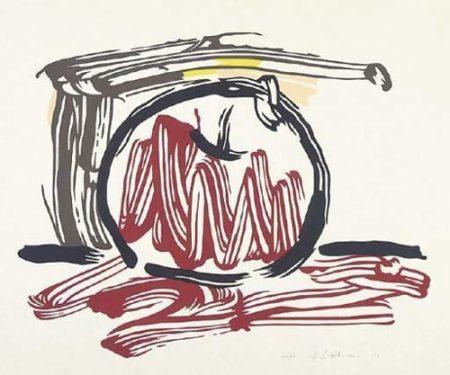 Roy Lichtenstein-Red Apple-1983