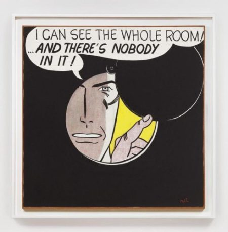 Roy Lichtenstein-I Can See the Whole Room!...and Theres Nobody in it!-1961