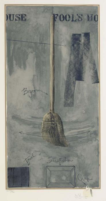 Jasper Johns-Fool's House (Ulae 109)-1972