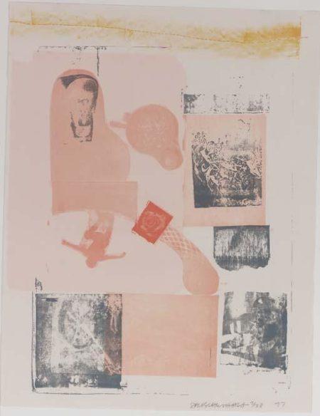 Robert Rauschenberg-Robert Rauschenberg - Elysian, from Romances-1977