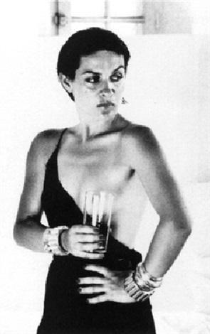 Helmut Newton-Portrait of Paloma Picasso, Saint Tropez-1973